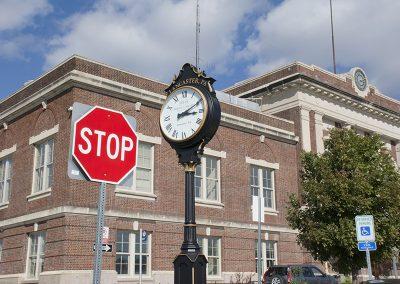 Lancaster Railroad Station Entrance