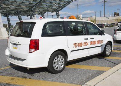 Unique Cab Van